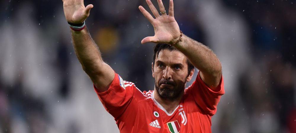 Asta inseamna sa ai clasa! Buffon i-a cerut iertare lui Michael Oliver la ultima sa conferinta de presa la Juventus
