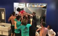 Finala Champions League 2018 | Fiul lui Marcelo a facut spectacol in vestiar! TOTI jucatorii l-au ridicat pe brate. VIDEO