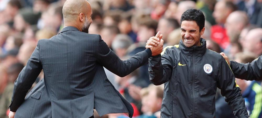 Arsenal si-a ales antrenorul de la o rivala din Premier League! Guardiola si-a dat acceptul