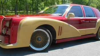 FOTO | Acum arata ca un Rolls-Royce Phantom, dar iti dai seama ce masina era inainte? Ideea NEBUNA a unui american