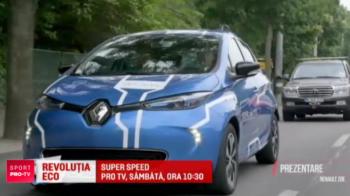 Romania se pregateste de revolutia eco! Giurgea si Bratu au testat statiile de incarcare si iti arata la SuperSpeed, sambata, de la 10:30, tot ce trebuie sa stii