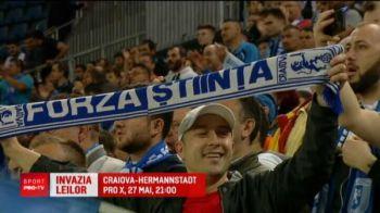 Oltenii invadeaza Capitala! 20.000 de fani vor fi pe Arena Nationala, la finala Cupei