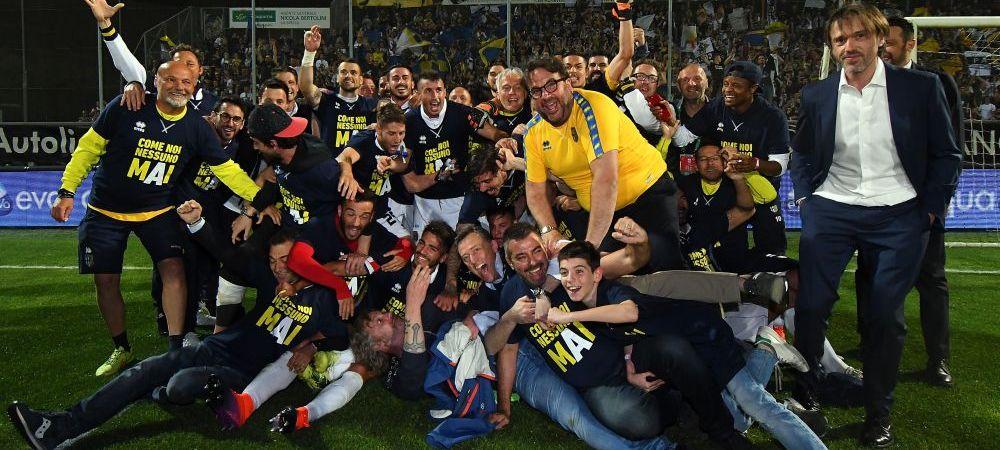 In 2015 au dat faliment si au ajuns in liga a 4-a! Echipa la care a EXPLODAT Mutu in fotbalul mondial a revenit in Serie A! Imagini incredibile: ce s-a intamplat pe strazile orasului