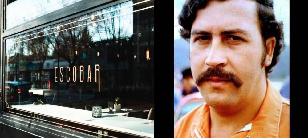 Ce se intampla cand deschizi un restaurant cu numele Escobar, ca al celebrului traficant de droguri!