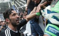 Adio, Buffon! Ultimele secunde ale lui Buffon la Juve: lacrimi in tribune, scene emotionante pe teren! VIDEO