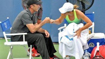 """""""Simona, ma asculti?"""" Momentul in care Darren Cahill a schimbat soarta meciului cu Sharapova! Australianul, interventie fantastica"""