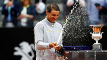 Nadal a cucerit trofeul la Roma si revine pe primul loc in clasamentul ATP