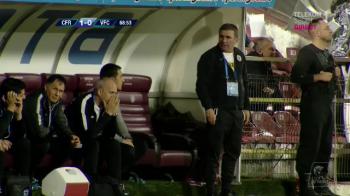 """""""Nu avem ce vorbi dupa acest meci, CFR merita felicitari!"""" Ce a spus Gica Hagi dupa calificarea Viitorului in cupele europene"""