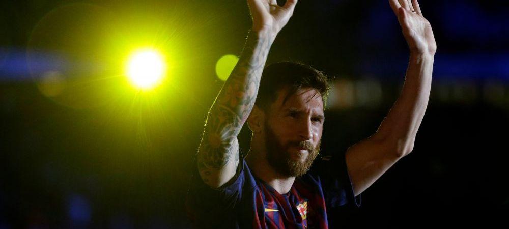 """Messi a castigat pentru a 5-a oara Gheata de Aur! Starul Barcei a vorbit despre transferul lui Griezmann dupa ultimul meci: """"Evident ca imi place!"""""""