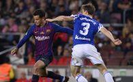 In ziua plecarii lui Iniesta, Barca i-a descoperit inlocuitorul! GOLAZO reusit de Coutinho cu Real Sociedad