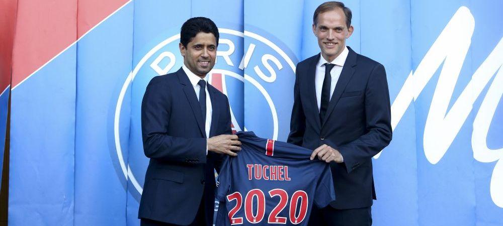 """Thomas Tuchel a fost prezentat oficial la PSG! A fost intrebat imediat despre situatia lui Neymar: """"L-am intalnit, el este un artist!"""""""