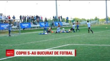 Legendele Craiovei, Cartu, Sandoi si Lung i-au consolat pe invinsi la Cupa Hagi-Danone! Handbalistele de la SCM au acordat trofeul