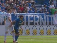 Arbitrul a avut nevoie de proba video pentru a-si da seama! VIDEO   Gestul VIOLENT facut de Ibrahimovic: Zlatan a primit imediat cartonasul rosu