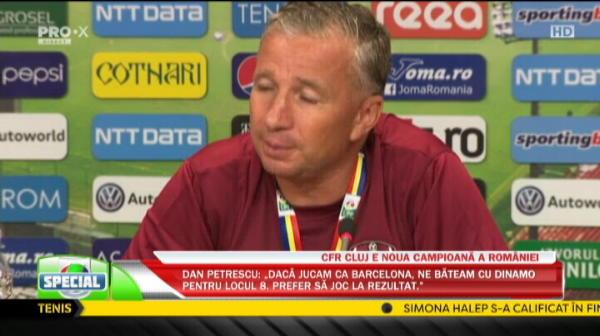 """VIDEO: """"In noaptea asta nu dormim!"""" Petrescu a povestit cum si-a imbatat jucatorii la ultimul trofeu castigat"""