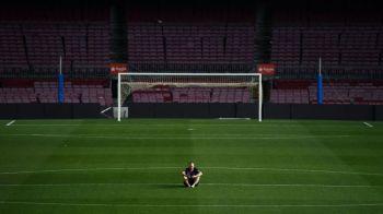 A aparut filmarea cu ultimele clipe ale lui Iniesta pe Camp Nou! Ce a facut legenda Barcelonei la ora 2 noaptea pe stadionul pustiu