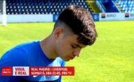 """Hagi trimite un junior la finala UEFA Champions League: """"La 18 ani sper sa joc in Liga Campionilor!"""" Real - Liverpool, IN DIRECT la ProTV, sambata, ora 21:45"""