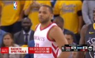 Lupta pentru finala NBA s-a incins: Houston a reusit marea surpriza! Curry a avut un suporter de lux