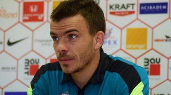 """""""Meritam si eu macar o maneca de la un tricou de campion"""". Mesajul lui Nistor pentru clujeni, dupa ce a juca in tur la CFR"""