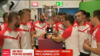 Sibiu, un meci pentru istorie: doar 4 echipe au reusit sa castige trofeul Cupei din Liga a II-a