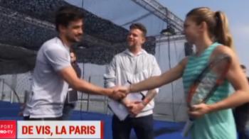 Simona Halep, tenis EXTREM la Paris! Imagini DE SENZATIE: unde a jucat