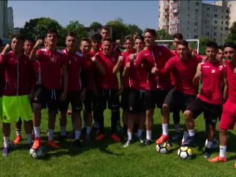 FCSB - Dinamo, finala Cupei U19, duminica, PROX   Micii dinamovisti promit spectacol: Bratu a trimis jucatori de la echipa mare!