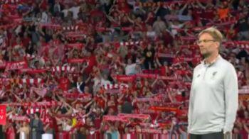 "VIDEO | Imnul fotbalului! Momente FABULOASE la Kiev inainte de startul finalei: tot stadionul a VIBRAT la ""You'll never walk alone"""