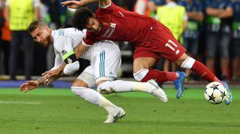 Internetul a luat-o razna dupa ce Salah a iesit in lacrimi de teren! Capitanul Realului, facut praf de fani pe retelele de socializare