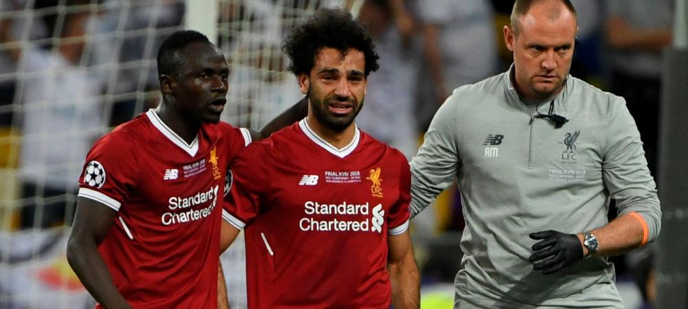 A venit verdictul medicilor dupa accidentarea lui Salah! Ce sanse are sa joace la Mondial