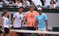 SIMONA HALEP LA ROLAND GARROS | Distractie maxima cu Nadal, Djokovic si Zverev pentru Halep inaintea debutului la Paris! Ce a facut