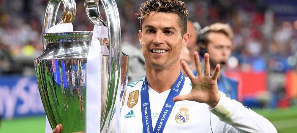 """AROGANTA URIASA a lui Ronaldo! """"Poate ca Champions League ar trebui sa-si schimbe numele!"""" Ce propunere a facut"""