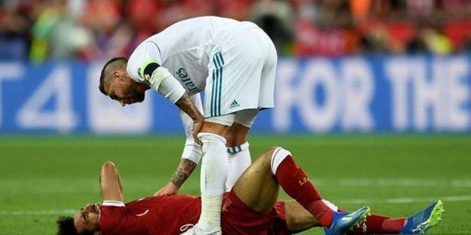 Ce mesaj i-a trimis Sergio Ramos lui Salah dupa ce l-a  RUPT  in finala Champions League:  Uneori, fotbalul iti arata partea rea!