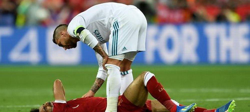 """Ce mesaj i-a trimis Sergio Ramos lui Salah dupa ce l-a """"RUPT"""" in finala Champions League: """"Uneori, fotbalul iti arata partea rea!"""""""