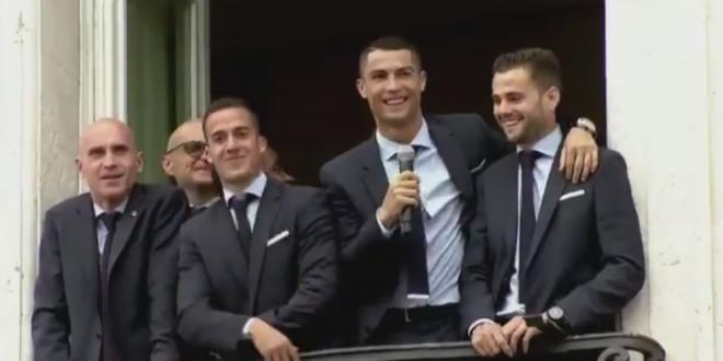 Discursul de ADIO? Cristiano Ronaldo le-a vorbit fanilor de la balcon! Cum au reactionat suporterii! VIDEO