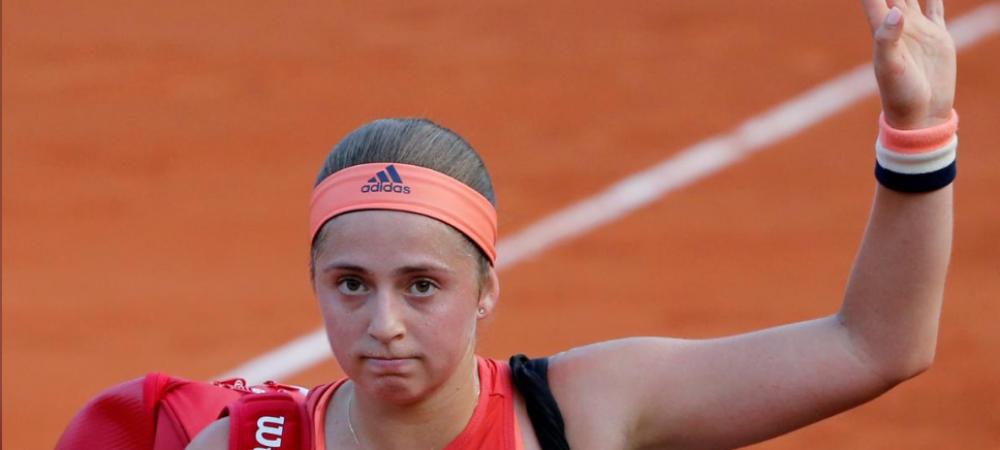 """Ostapenko a CEDAT presiunii: """"Am vrut sa le arat tuturor!"""" Prima reactie dupa eliminarea RUSINOASA de la Roland Garros"""