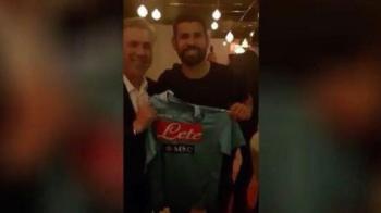 """Diego Costa, """"prezentat"""" de Ancelotti la Napoli! Motivul pentru care s-a pozat cu tricoul clubului italian"""