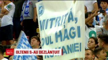 Mitrita, noul Hagi! Ce spune despre bannerul care a innebunit Oltenia