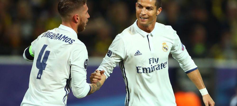 Dezvaluire! Capitanul Ramos l-a luat la rost pe Cristiano in vestiar, imediat dupa ce portughezul a insinuat ca ar putea pleca de la Real