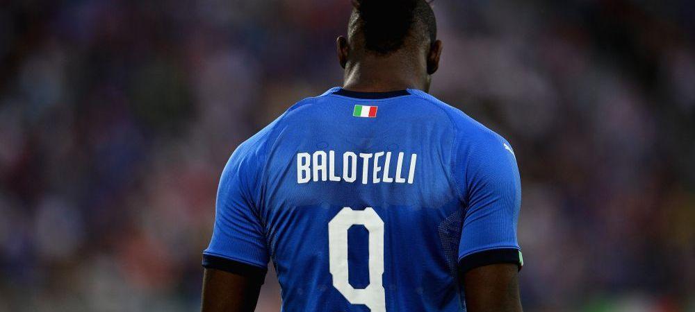 """A asteptat 1.434 de zile, a aratat ce poate in 21 de minute! """"De ce intotdeauna eu?!"""" Balotelli a recidivat la nationala Italiei"""