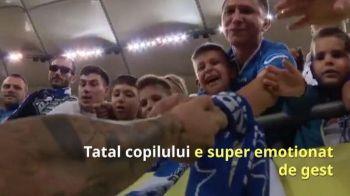VIDEO: Asa se nasc eroii! Ce a facut Mitrita dupa finala Cupei pentru un copil din tribuna