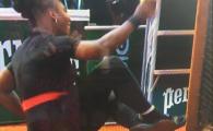 A cazut in FUND! Serena Williams a oferit imaginea zilei la Roland Garros 2018. Victorie dupa 2 ani pe zgura! VIDEO
