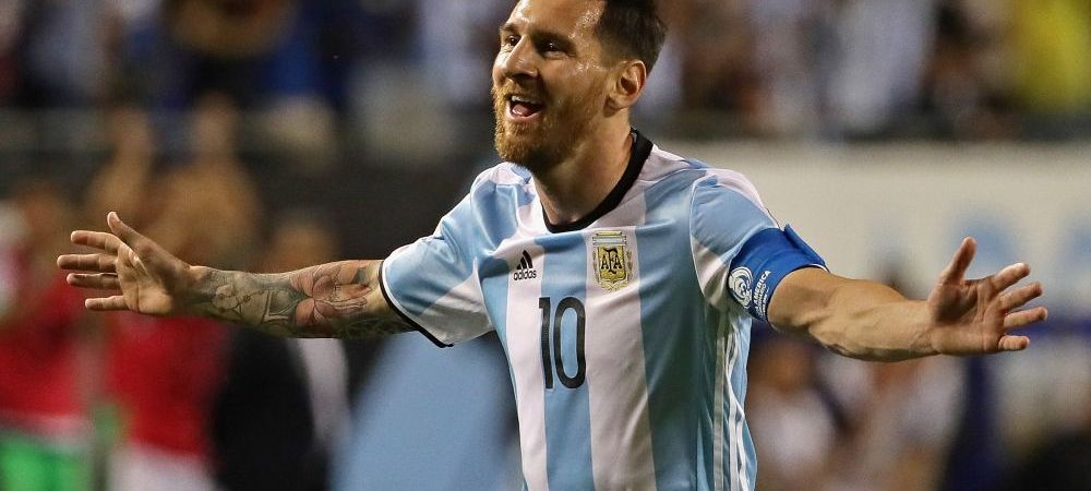 """Beast mode"" :) Messi a facut spectacol in ultimul amical al Argentinei: 3 GOLURI si un assist 