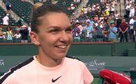 REACTIA Simonei Halep dupa prima victorie la Roland Garros 2018. Ce a spus despre primul set pierdut