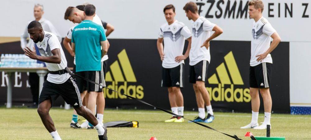 Tensiune uriasa in cantonamentul campioanei mondiale! Doi jucatori ai Germaniei, la un pas sa se ia la bataie la antrenament