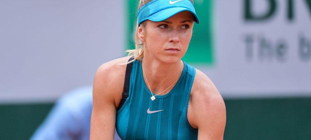 """Aroganta Svitolinei inaintea meciului cu Mihaela Buzarnescu de la Roland Garros: """"Nu imi bat capul cu asta, nu e important!"""""""