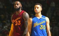 Maternitatea superstarurilor! LeBron si Curry au impreuna o poveste de film
