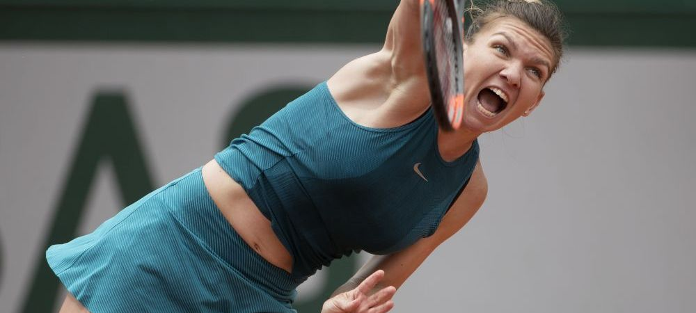 """Imaginea de """"Asta trebuie sa fie turneul meu!"""". Simona Halep, concentrata 100% inaintea unui nou meci la Paris. FOTO"""