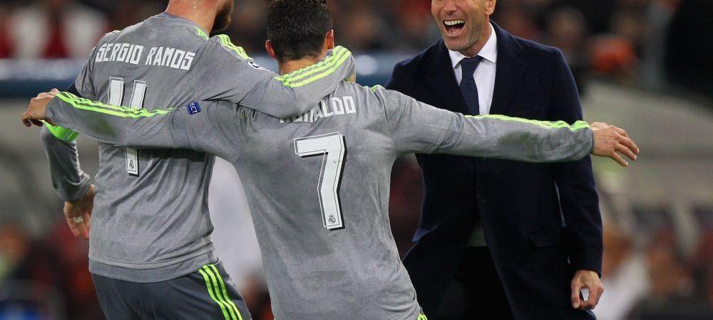 Primele reactii ale jucatorilor Realului dupa ce Zidane si-a dat demisia! Mesajul lui Sergio Ramos