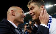 Prima reactie a lui Cristiano Ronaldo dupa demisia lui Zidane de la Real! Ce mesaj a postat starul portughez
