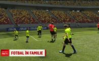 "Fotbal in familie! Bogdan Vintila, Ionut Mazilu si Costin Lazar au jucat fotbal cu fiii lor pe National Arena: ""El zice ca tine cu Steaua, dar tine cu FCSB"""