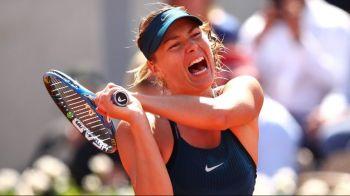 "Sharapova a RABUFNIT dupa victoria de la Roland Garros: ""Stai linistit, va juca si Sharapova!"" Ce s-a intamplat"